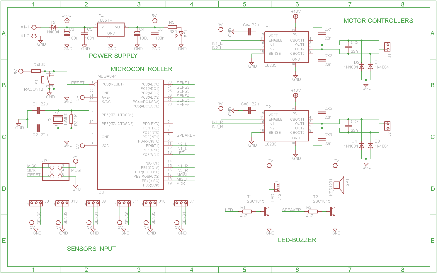 Tweenbot Project 1 Electronics Pcb Design Circuit Diagram Software