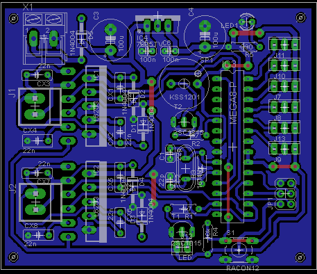 Eagle PCB design notes